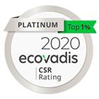 Ecovadis Platinum 2020